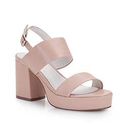 Buty damskie, beżowo - różowy, 86-D-904-9-38, Zdjęcie 1