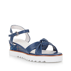 Women's sandals, navy blue, 86-D-905-7-41, Photo 1