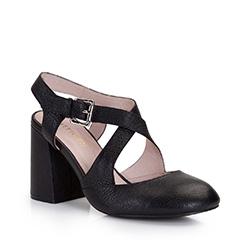 Buty damskie, czarny, 86-D-910-1-37, Zdjęcie 1