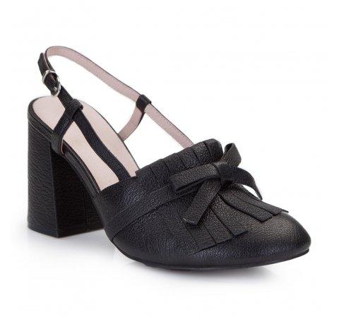 Buty damskie, czarny, 86-D-911-9-39, Zdjęcie 1