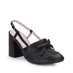 Buty damskie, czarny, 86-D-911-1-38, Zdjęcie 1