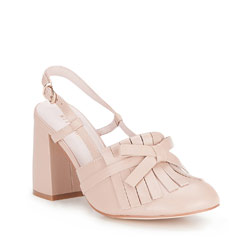Buty damskie, beżowy, 86-D-911-9-39, Zdjęcie 1