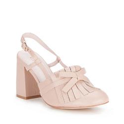 Buty damskie, beżowy, 86-D-911-9-40, Zdjęcie 1