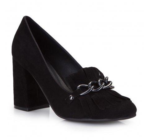 Buty damskie, czarny, 86-D-912-1-35, Zdjęcie 1