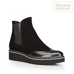 Buty damskie, czarny, 87-D-106-1-37_5, Zdjęcie 1