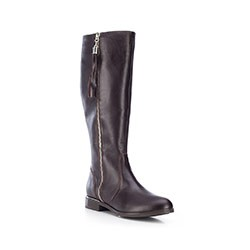 Buty damskie, brązowy, 87-D-202-4-35, Zdjęcie 1