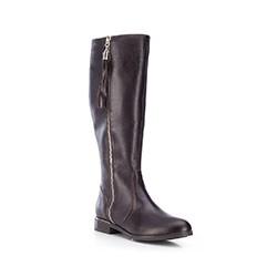 Buty damskie, Brązowy, 87-D-202-4-38, Zdjęcie 1