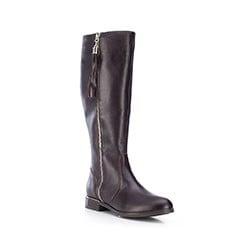 Buty damskie, brązowy, 87-D-202-4-40, Zdjęcie 1