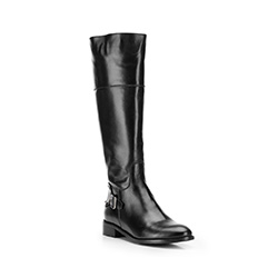 Buty damskie, czarny, 87-D-203-1-41, Zdjęcie 1