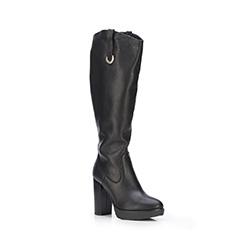 Buty damskie, czarny, 87-D-205-1-38, Zdjęcie 1