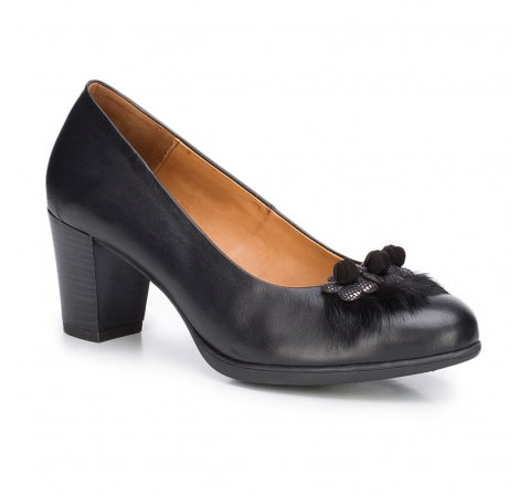 Buty damskie, czarny, 87-D-301-1-37, Zdjęcie 1