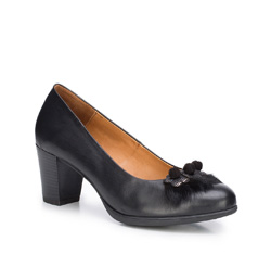 Women's shoes, black, 87-D-301-1-37, Photo 1