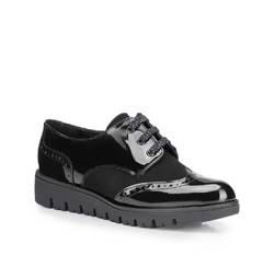 Buty damskie, czarny, 87-D-303-1-35, Zdjęcie 1