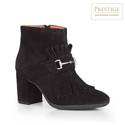 Buty damskie, czarny, 87-D-458-1-35, Zdjęcie 1