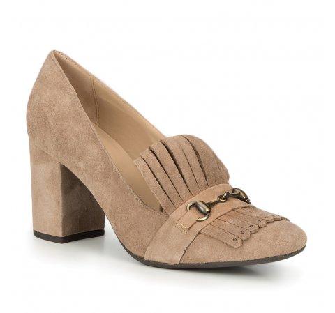 Buty damskie, beżowy, 87-D-700-9-36, Zdjęcie 1