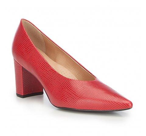 Buty damskie, czerwony, 87-D-702-3-40, Zdjęcie 1