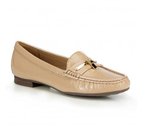 Buty damskie, beżowy, 87-D-710-9-35, Zdjęcie 1