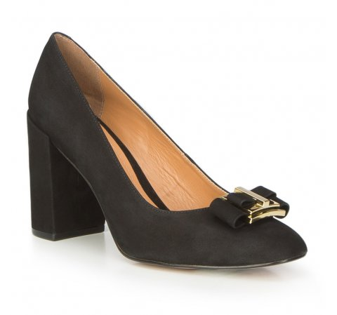 Buty damskie, czarny, 87-D-755-1-36, Zdjęcie 1