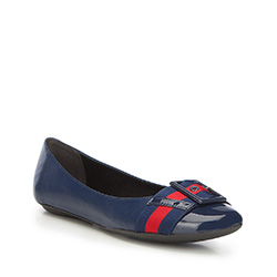 Women's shoes, navy blue, 87-D-761-7-35, Photo 1
