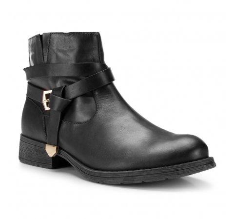 Buty damskie, czarny, 87-D-802-1-36, Zdjęcie 1