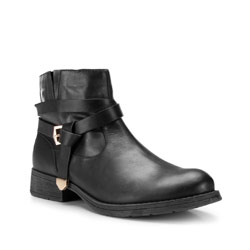 Buty damskie, czarny, 87-D-802-1-40, Zdjęcie 1
