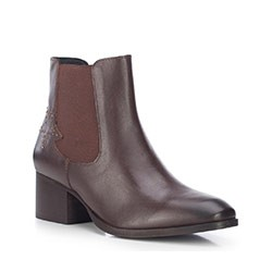 Women's ankle boots, brown, 87-D-854-4-35, Photo 1