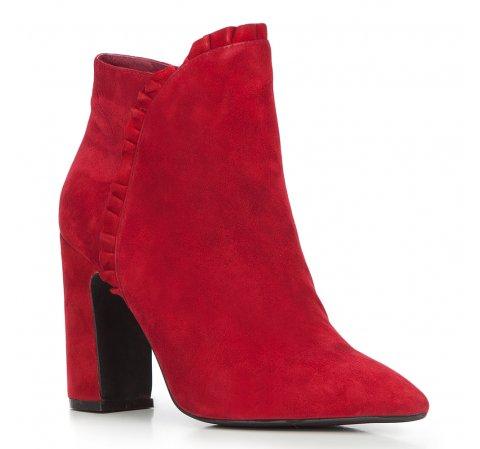 Buty damskie, czerwony, 87-D-904-3-35, Zdjęcie 1