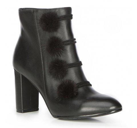 Buty damskie, czarny, 87-D-907-1-35, Zdjęcie 1