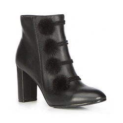 Buty damskie, czarny, 87-D-907-1-38, Zdjęcie 1