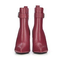 Women's shoes, burgundy, 87-D-908-2-37, Photo 1