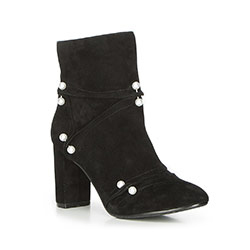 Women's ankle boots, black, 87-D-910-1-35, Photo 1