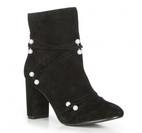 Buty damskie, czarny, 87-D-910-1-35, Zdjęcie 1