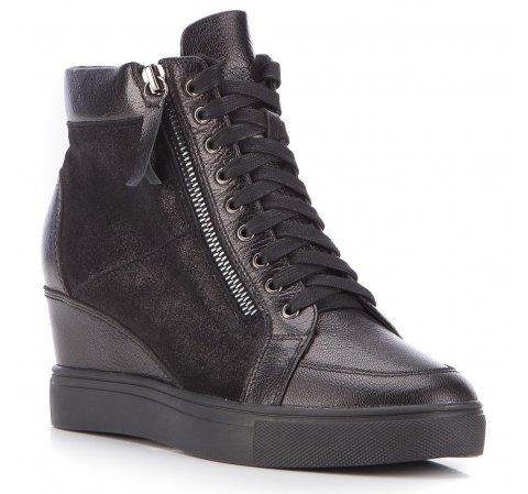 Buty damskie, czarny, 87-D-914-1-35, Zdjęcie 1
