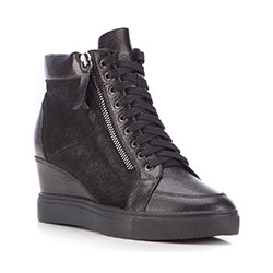 Buty damskie, czarny, 87-D-914-1-37, Zdjęcie 1