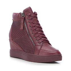 Women's shoes, burgundy, 87-D-914-2-37, Photo 1