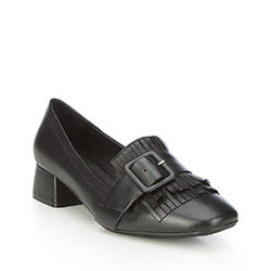Women's court shoes, black, 87-D-920-1-35, Photo 1