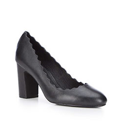 Women's court shoes, black, 87-D-922-1-35, Photo 1