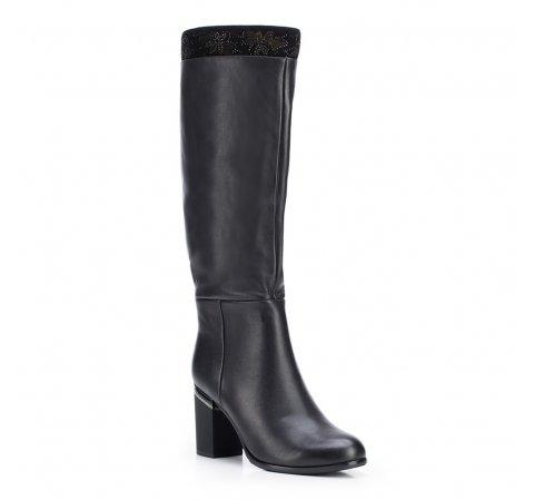Buty damskie, czarny, 87-D-951-1-41, Zdjęcie 1