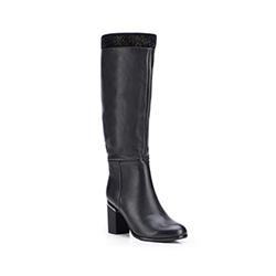 Buty damskie, czarny, 87-D-951-1-37, Zdjęcie 1