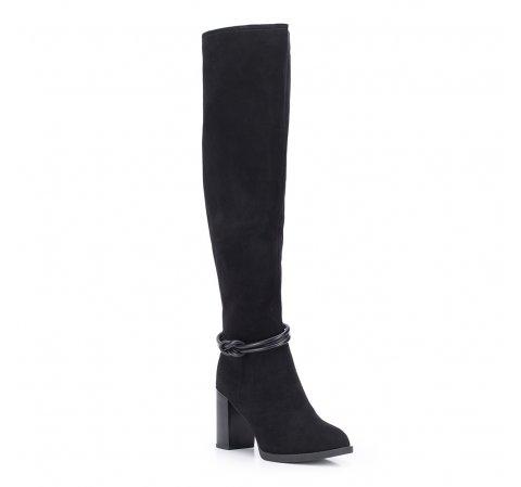 Buty damskie, czarny, 87-D-952-1-35, Zdjęcie 1
