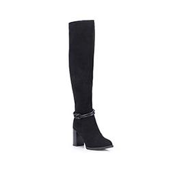 Buty damskie, czarny, 87-D-952-1-38, Zdjęcie 1