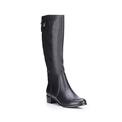 Buty damskie, czarny, 87-D-953-1-38, Zdjęcie 1