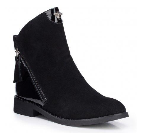 Buty damskie, czarny, 87-D-954-1-35, Zdjęcie 1