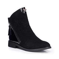 Buty damskie, czarny, 87-D-954-1-37, Zdjęcie 1