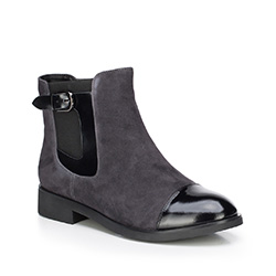 Women's ankle boots, grey, 87-D-956-8-37, Photo 1