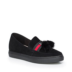 Buty damskie, czarny, 87-D-957-1-35, Zdjęcie 1