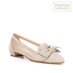 Buty damskie, biało - bordowy, 88-D-100-9-39, Zdjęcie 1