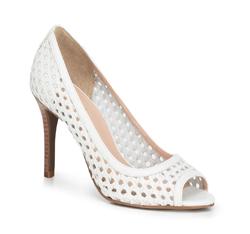 Buty damskie, biały, 88-D-251-0-38, Zdjęcie 1