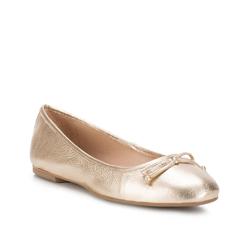 Buty damskie, złoty, 88-D-258-G-37, Zdjęcie 1