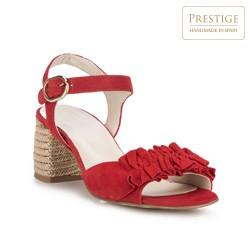 Buty damskie, czerwony, 88-D-450-3-38, Zdjęcie 1